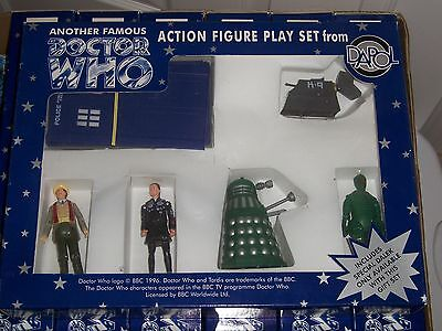 Doctor Who Dapol 7th Doctor Limited Edition Green Dalek Action Figure Gift Set!  for sale  Shipping to India
