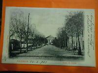Macerata Viale S. Croce Bella Cartolina Animata Viaggiata 24.04.1903 -  - ebay.it