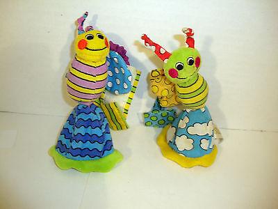 "9"" Sassy Wrap Around Rattles Bee Bug Wrist Rattle Babies Stroller Baby Green"