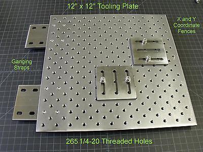 Steel Tooling Plate Coordinate Systempunch Press Brakemillingopticaltlplate1