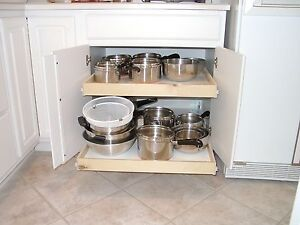 Pull Out Shelves That Slide 29 3 4 X 20 Bathroom Cabinet