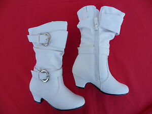 WHITE GIRLS BOOTS SHOES YOUTH SIZE 9,11,3 | eBay
