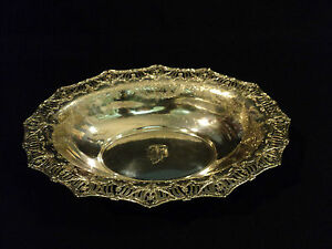 STUNNING-19th-C-AMERICAN-STERLING-SILVER-12-OVAL-PIERCED-CENTERPIECE-BOWL