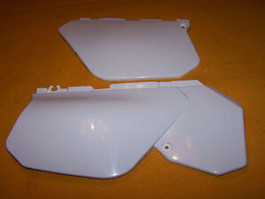 YAMAHA DTR125 DTR200 DTR 125 200 DT R WHITE RIGHT AND LEFT SIDE PANELS