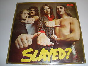 LP-SLAYED? SLADE ON POLYDOR  ....SEALED.