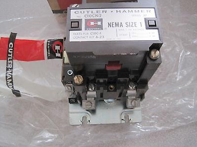 Cutler Hammer C10cn2 Contactor C10 Cn2a Size 1