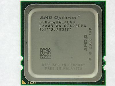Amd Third-generation Opteron 8354 - 2.2 Ghz Quad-core (os8354wal4bgd) Processor
