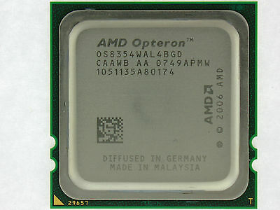 Amd Third-generation Opteron 8354 - 2.2 Ghz Quad-core (os8354wal4bgd) Processor