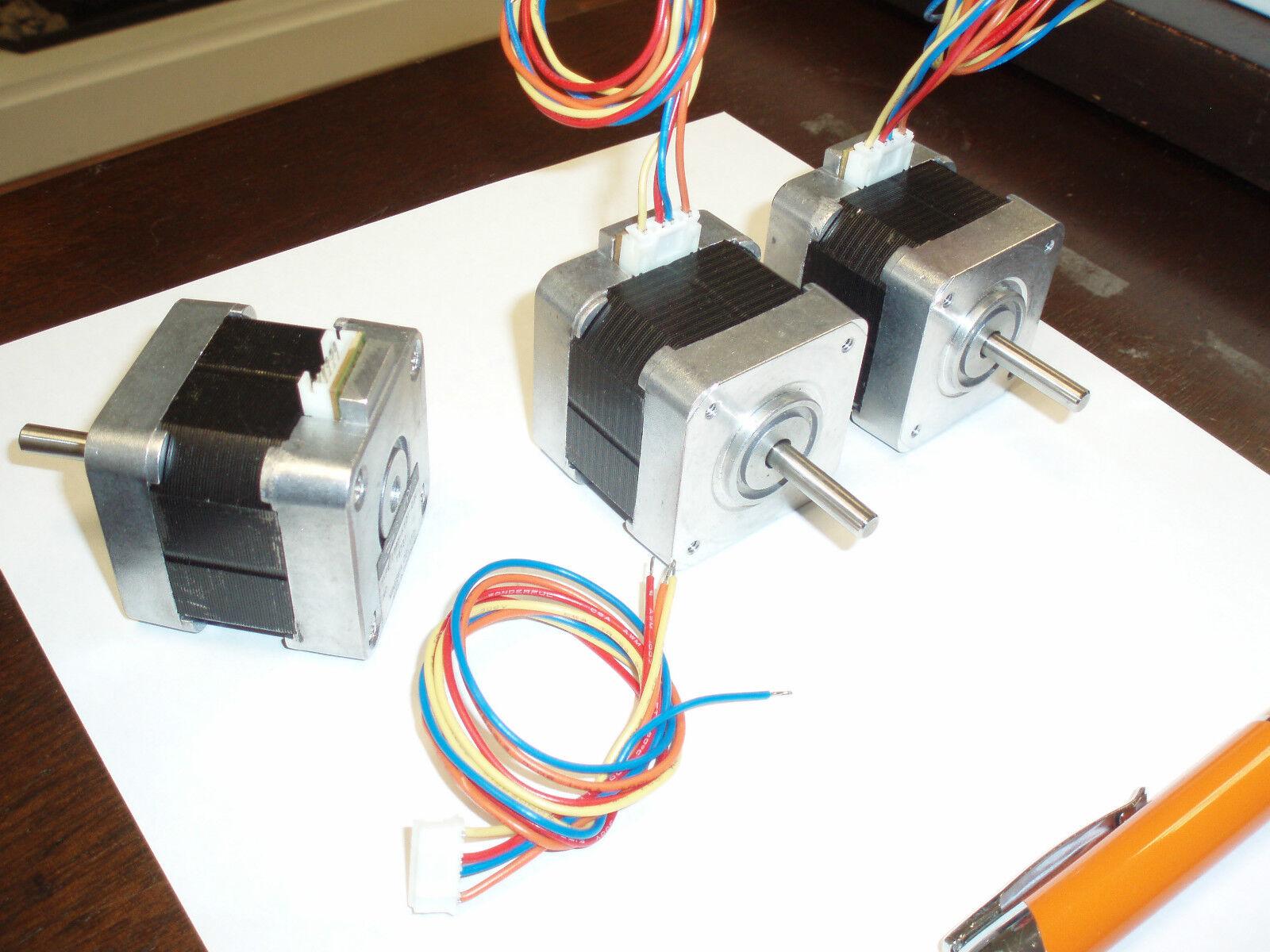 Minebea step stepper motor 17pm k101 03v frame size 17 for Servo motor frame sizes
