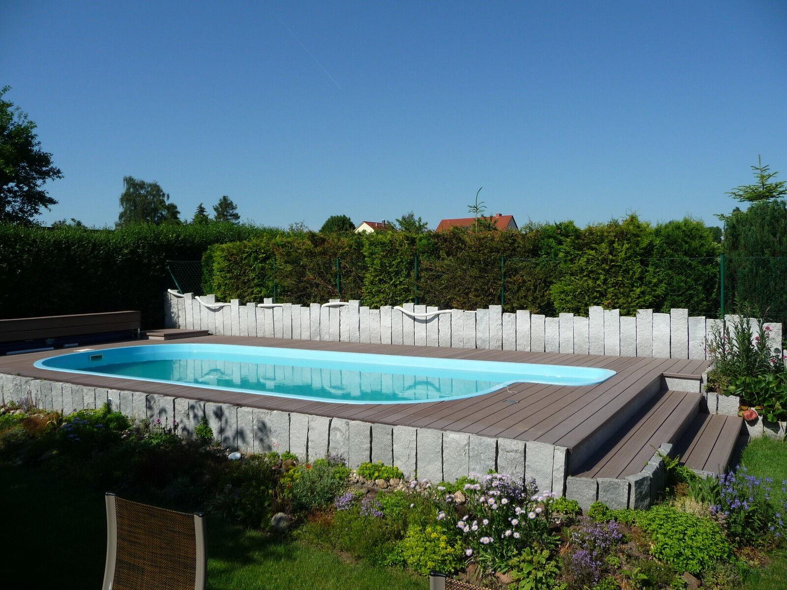 wpc terrassen dielen diele pool holz poolumrandung pool. Black Bedroom Furniture Sets. Home Design Ideas