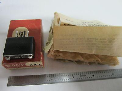 Vintage Wwii Bliley Quartz Crystal Ax2 7230.9 Kc Box Frequency Radio Ham