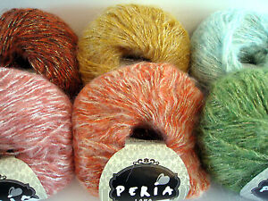 Peria-LARA-Yarn-Sparkly-Soft-Mohair-Color-Choice