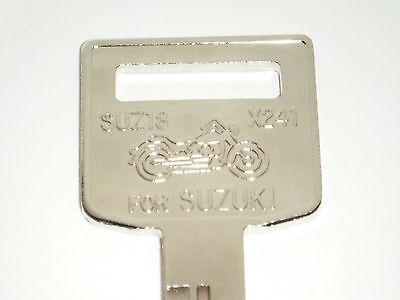 Suzuki Boulevard C50 M50 Key Blank 1996 1997 1998 1999 2000 2001