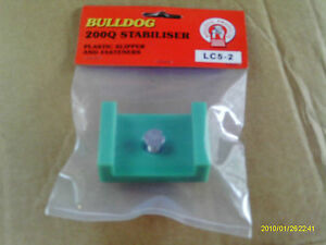 Bulldog Stabiliser Shipper , Slipper pad . Genuine part .Nylon - New