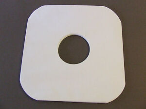 20-WHITE-PAPER-INNER-LP-RECORD-SLEEVES-ROUNDED-CORNER