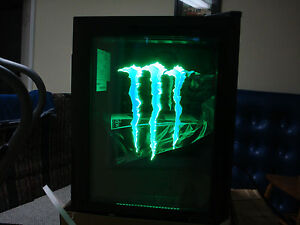 Monster-Energy-Mini-Fridge-G1-with-LED-Door-light