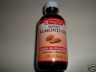 De La Cruz Aceite Sweet Almond Oil 2 Oz Moisturizer Aceite De Almendras