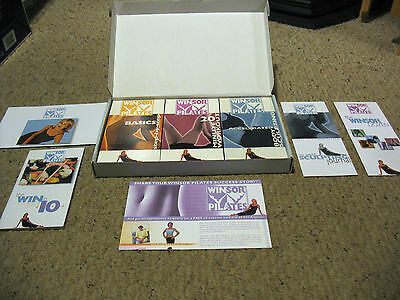 Winsor Pilates 3 Vhs In Box
