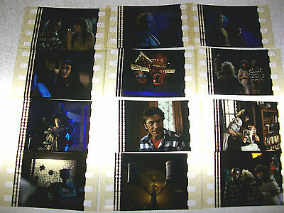 BEETLEJUICE Lot of 12 Film Cells - Compliments poster movie dvd