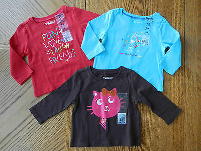 3 6 Month Baby Girl Cute Top Lot $48 Winter Clothes Tee T-shirt