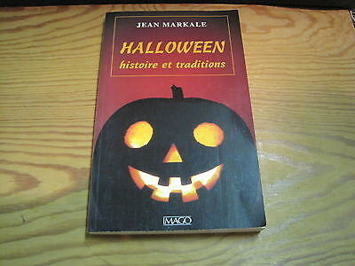 Jean Markale Halloween (Jean MARKALE: Halloween histoire et traditions.)