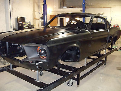 Ford : Mustang SHELBY,GT,ELEANOR, CLONE 1967,1968 FORD MUSTANG FASTBACK,SHELBY,GT,ELEANOR,CLONE, RECONDITIONED BODY'S