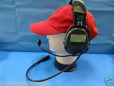 MSA SORDIN #75305 SUPREME PRO HIGH NOISE HEADSET W/ BOOM MICROPHONE  #10049802 on Rummage