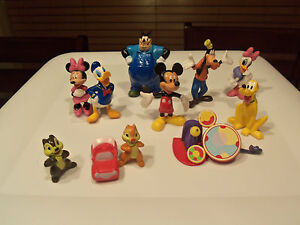 New Mickey Mouse Clubhouse Playset Book Toy Figures ...