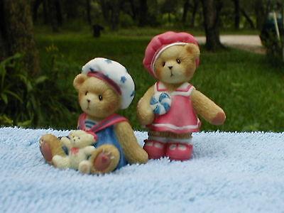 Paws For Patriotism American Bear  Exclusive Cherished Teddies BNIB