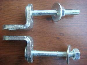 Antivol porte cadenas vis longues pour box garage volets portes battantes ebay - Cadenas pour porte de garage ...