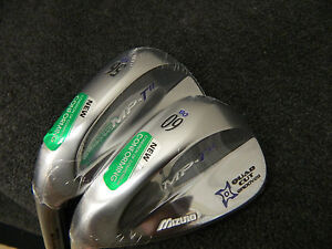 NEW LH MIZUNO MP T11 T 11 WEDGE SET 56* 60* SW LW DG SPINNER STEEL WEDGES