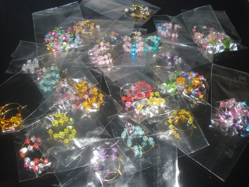 (MODEL-1) LOT OF 6 PAIRS OF MIXED VARIETIES OF EARRINGS (USA SELLER)