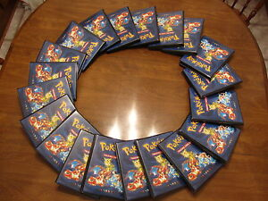 25 complete Pokemon Sets-1st ed Base-Neo Destiny12 1st ed+promos 2,450+100% NM/M