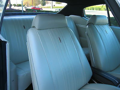 1970 Chevelle Hardtop Deluxe Bucket Seat Interior Kit Black