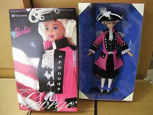1996 George Washington Barbie doll- FAO Schwarz