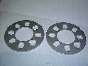 4-Stud-Universal-Wheel-Spacers-6mm-Car-Trailer-Etc-Sent-Registered-Post