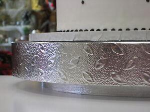 Silver Wedding Cake Plateau