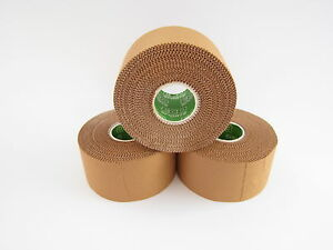 Rigid Sports Strapping Tape - 3 Rolls x 3.8cm x 13.7m