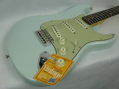 Fender American Vintage '59 1959 Stratocaster Strat Faded Sonic Blue Guitar on Rummage