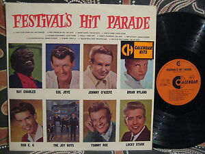JOHNNY-OKEEFE-COL-JOY-ROB-E-G-JOYS-BOYS-1960s-Festivals-Hit-Parade-OZ-LP