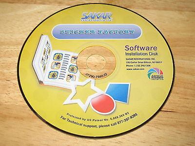 Kids Cam Sticker Factory Pc Cd Rom 2006 Sakar International For Windows 98 Me Xp