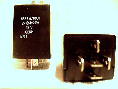 Blinkgeber 12V 4-polig IFA Multicar M24 M25 Universal  2+1/6x21W
