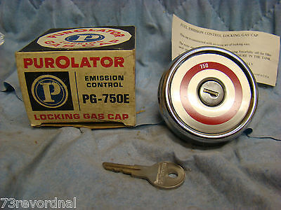 Nors 1972 1973 1974 72 73 74 Checker Locking Gas Cap Marathon Taxi Cab Aerobus