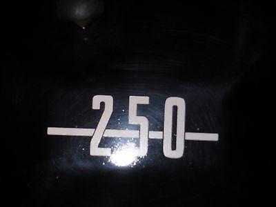 Ducati 250 Side Panel Decal