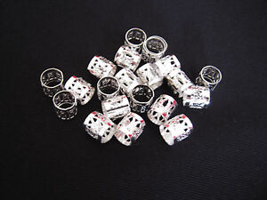 500pcs-Silver-Plated-DREADLOCK-PLATTING-Braiding-Hair-Beads-Cuff-Accessory-Clips