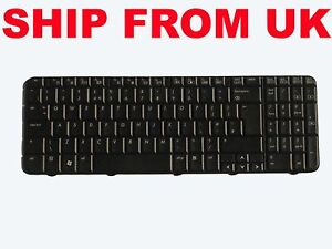 New OEM HP Compaq Presario CQ60 G60 Series UK Black Keyboard MP-08A96GB-442