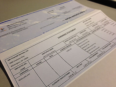 Paystub Template Excel. 10 pay stub templates word excel pdf ...