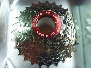 ceramic-coating-Campagnolo-light114g-Alloy-Cassette-10-speed-11-27t-Campy