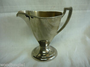 Vintage-ART-DECO-COFFEE-CREAMER-MANNING-BOWMAN-MB-MEANS-BEST-Silverplate