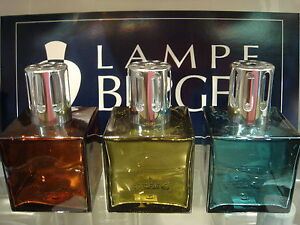 Lampe-Berger-CUBE-Glass-Lampe-YOUR-CHOICE-With-one-FREE-180ml-Fragrance